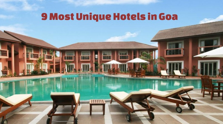 resorts in goa 9 most unique hotels in goa