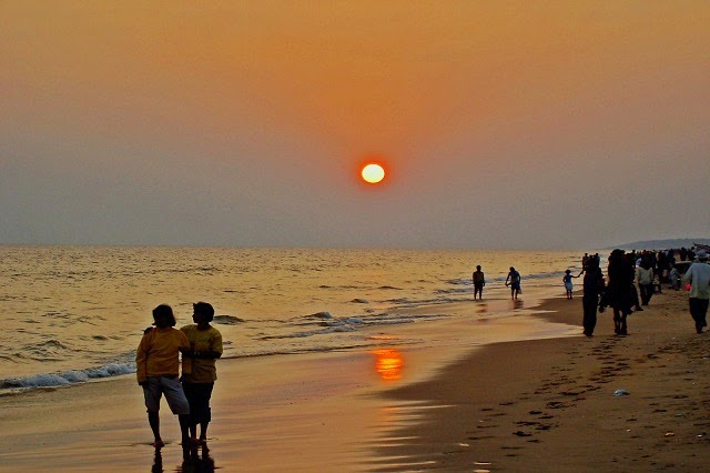 Puri Beach in Odisha