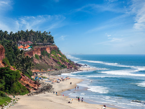 Varkala Beach in Kerala