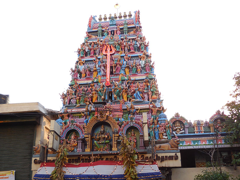 Kalikambal Temple in Chennai