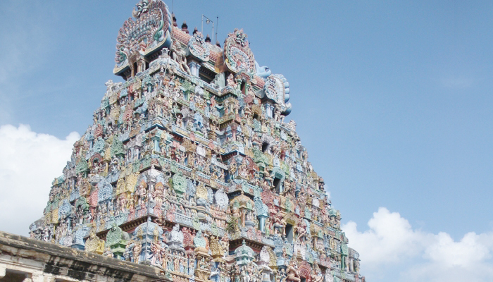 The Parthasarathy Temple in Chennai