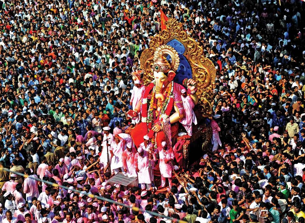 Ganesh Chaturthi Celebrations in Mumbai