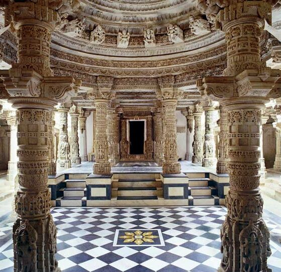 The Five Temples of Dilwara