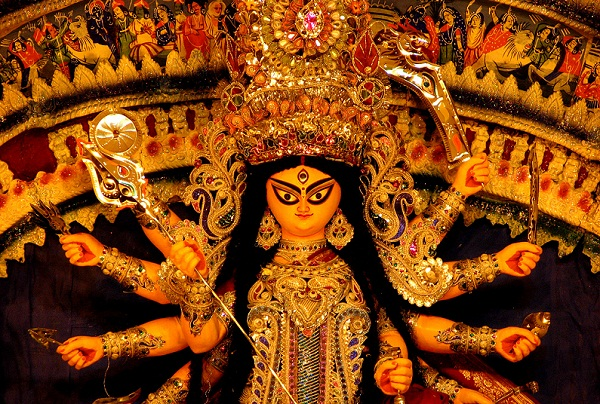 navratri festival in west bengal