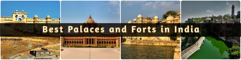 Best Palaces and Forts in India