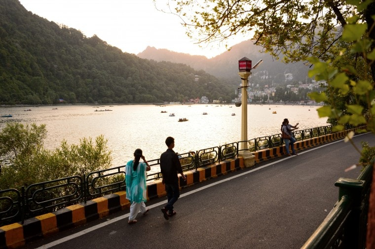 Strolling Through Nainital