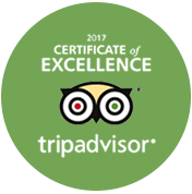 Excellence Certified By Trip Advisor 2017
