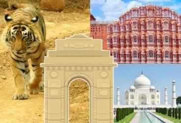 Golden Triangle With Bharatpur Tour